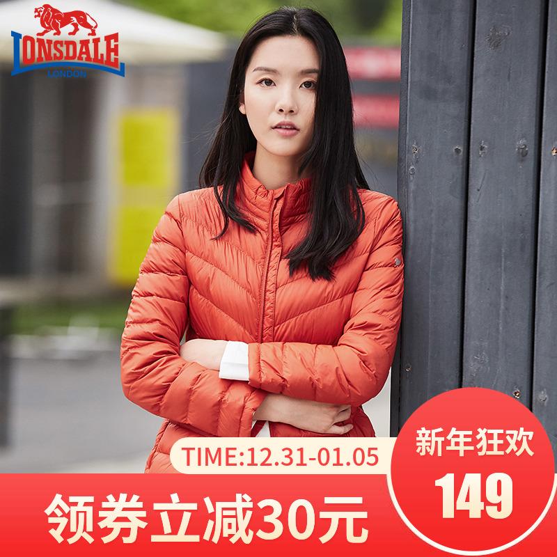 龙狮戴尔轻薄羽绒服女短款时尚韩版修身2019冬季新款外套时尚保暖