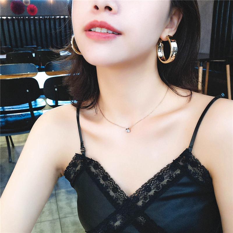 高级感金属圈圈圆形耳环2019新款潮网红圆圈耳圈女气质韩国耳饰品