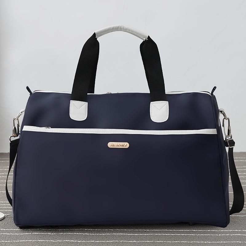 [¥31]手提旅行包大容量防水旅游袋男出差单肩行李包女健身包短途旅行袋