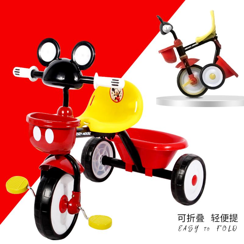 祺月简易三轮车小孩轻便自行车玩具