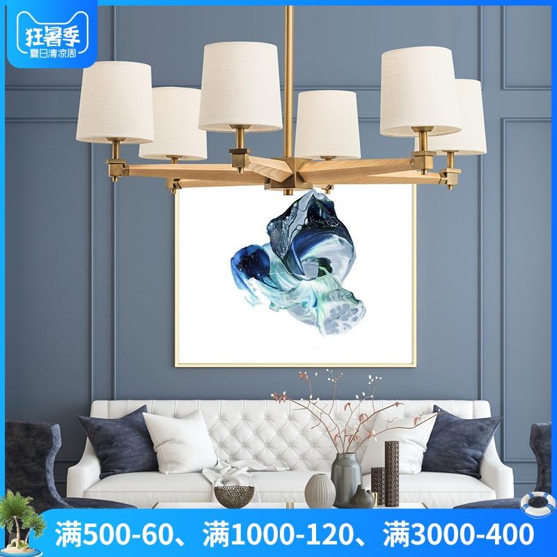 客厅水晶吊灯奢华
