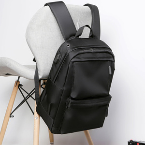 Casual backpack male large capacity travel bag computer backpack fashion trend Korean version of junior high school college student bag