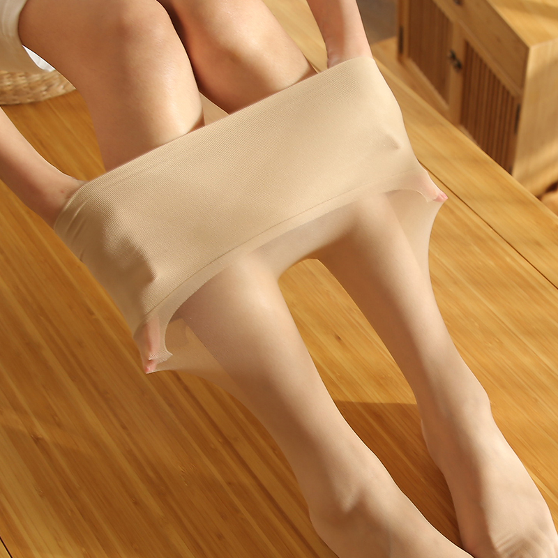 3条装 超薄任意剪丝袜女士夏季全无痕天鹅绒连裤袜薄丝袜哑光长袜