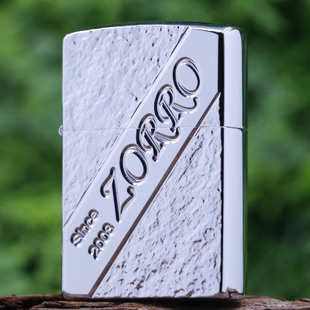 佐罗ZORRO 煤油打火机 防风创意超薄个性老式铜火机刻字定制批发