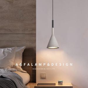 Bedside small chandelier Nordic modern minimalist bedroom room lamp net red ins creative restaurant bar home improvement lamp