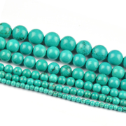 Myatou DIY jewelry materials accessories semi-finished turquoise loose beads beads beads