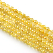 Myatou natural blonde Crystal beads DIY semi-finished titanium Crystal Crystal loose beads beads
