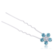 Good hair accessory fashion u-clips hair sticks hair tools message made by the Korean hair flower hairpin clip jewelry