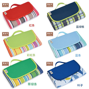 Picnic cloth moisture-proof outdoor supplies tent grass widening thickening picnic outdoor mats portable foldable