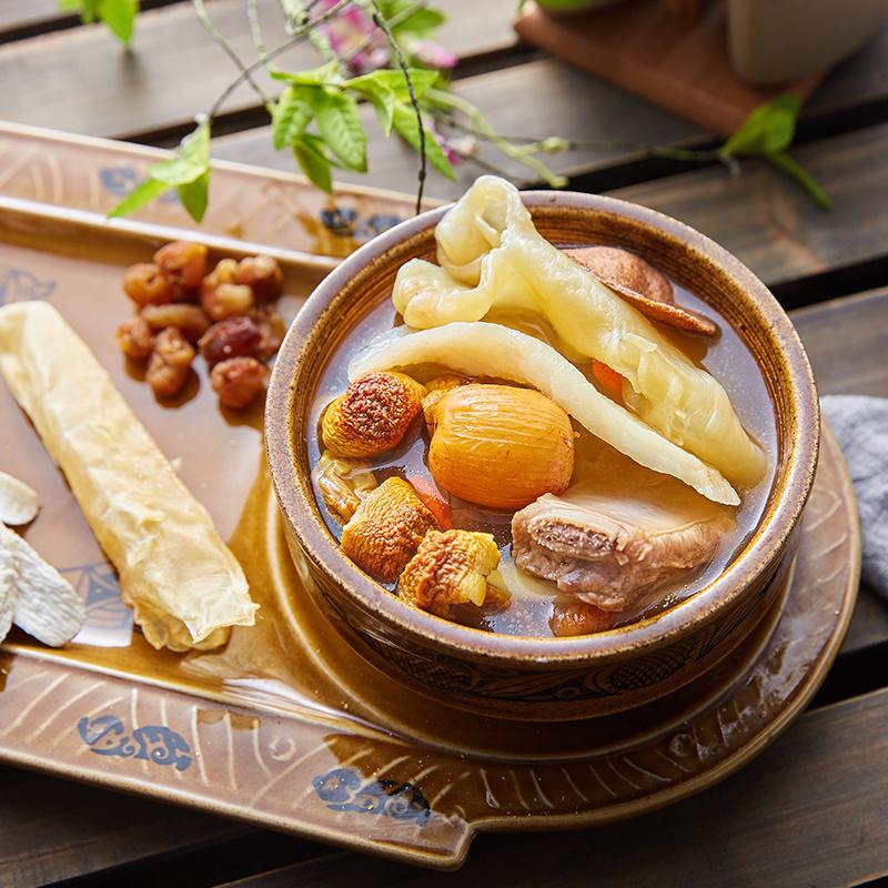 膳太姬松茸花胶汤滋补养生女人煲汤材料包干货广东煲汤料炖汤食材