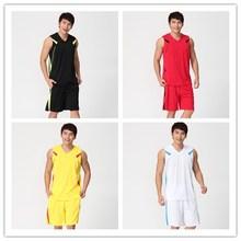 正品对克透气篮球服套装可印号定ip12男篮球an球衣团购队服