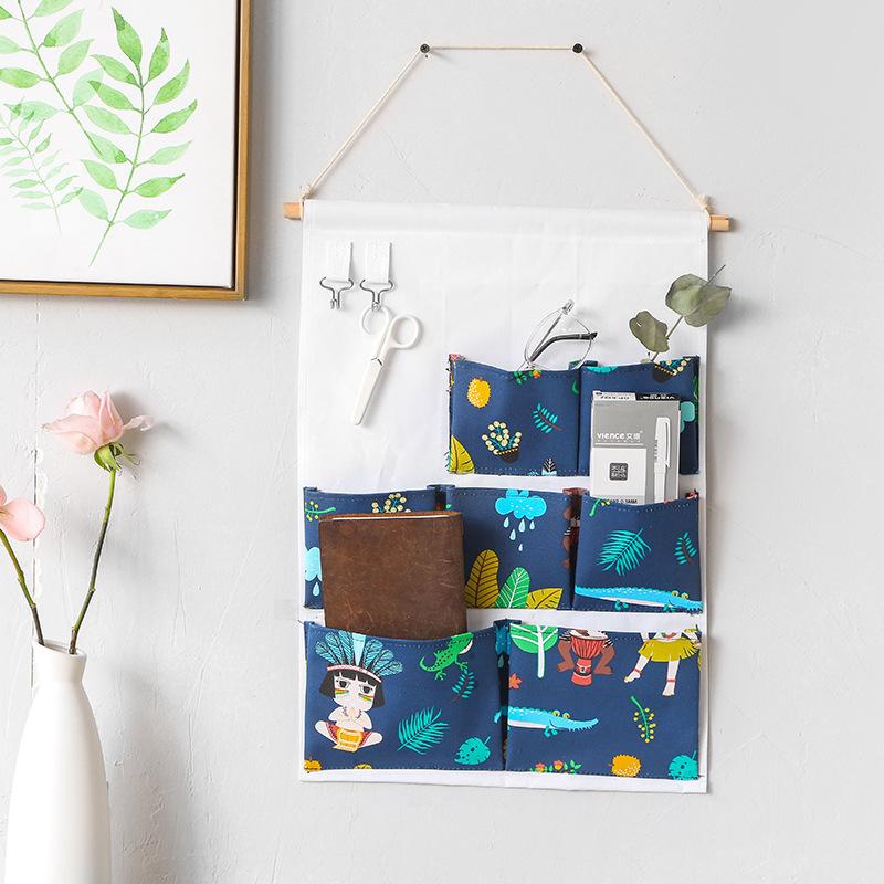 大学生宿舍神器上铺寝室女床上墙挂式置物架床头收纳多层储物挂篮