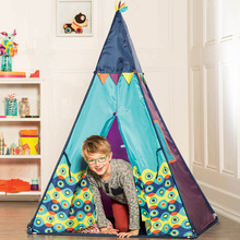 American B. toys Indian tent bile children's indoor and outdoor game house small house children's house toys