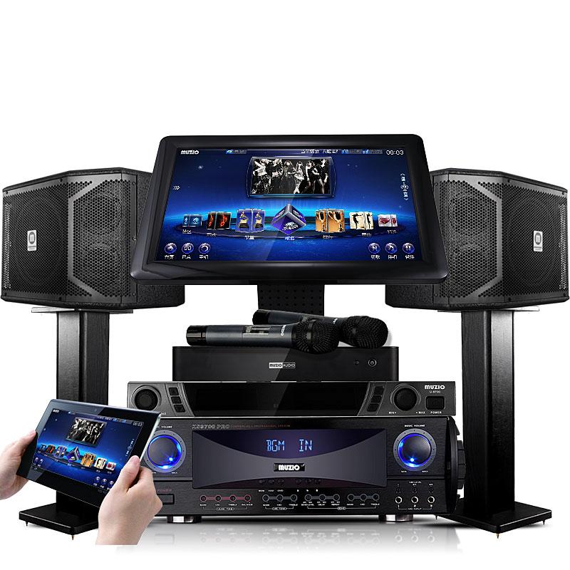 曼族 X3专业家庭KTV音响点歌机效果不错,值得入手