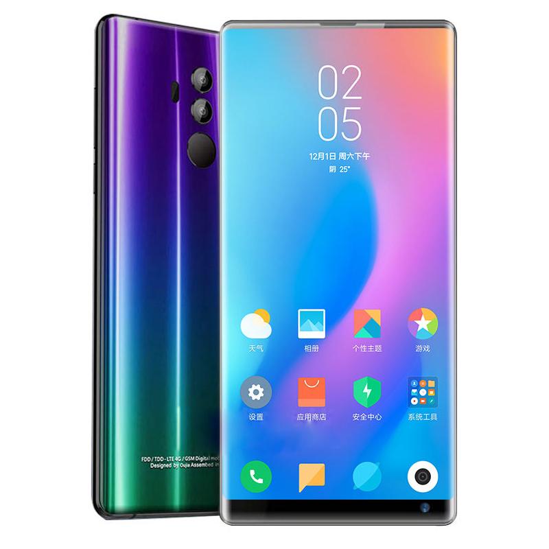 正品欧加2019超薄全面屏无边框10G运行256G内存全网通4G智能手机