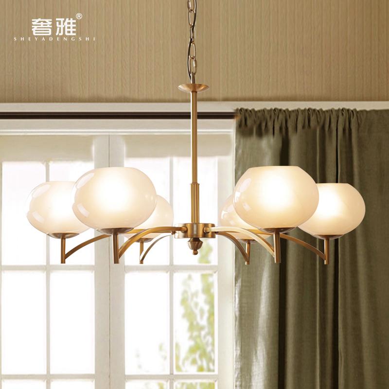 卧室餐厅北欧吊灯