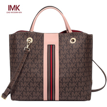French l MK brand genuine handbag women 2019 new European and American large bag women's satchel large capacity Tote Bag