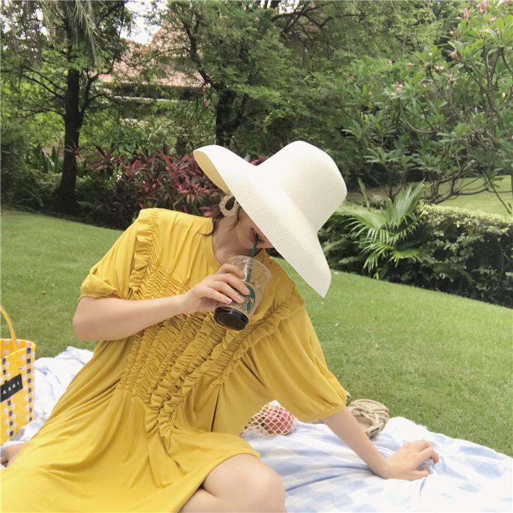 连衣裙JOYOUS大喜庆2018新款裙子女秋季木耳边设计
