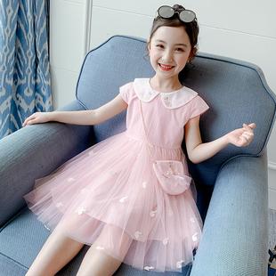女童连衣裙夏装2020新款洋气夏季童装小女孩公主裙蓬蓬纱儿童裙子图片