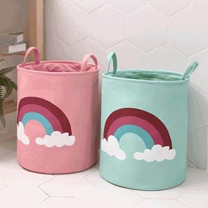 Children's toy storage basket baby clothes storage box cartoon toy storage bucket oversized dirty clothes basket storage bag