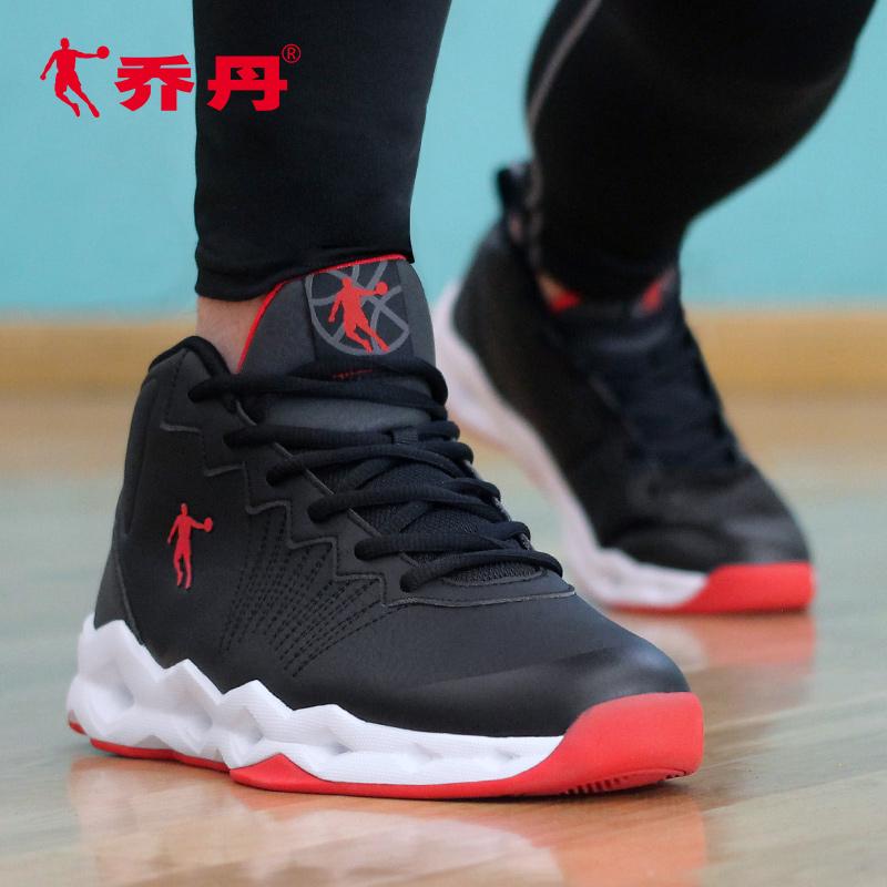 乔丹篮球鞋男鞋2019冬季高帮毒液5球鞋防滑减震战靴学生运动鞋男