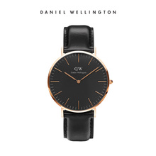 Danielwellington Daniel Wellington DW Men's Watch 40mm Fashion Black Table Simple Quartz Watch