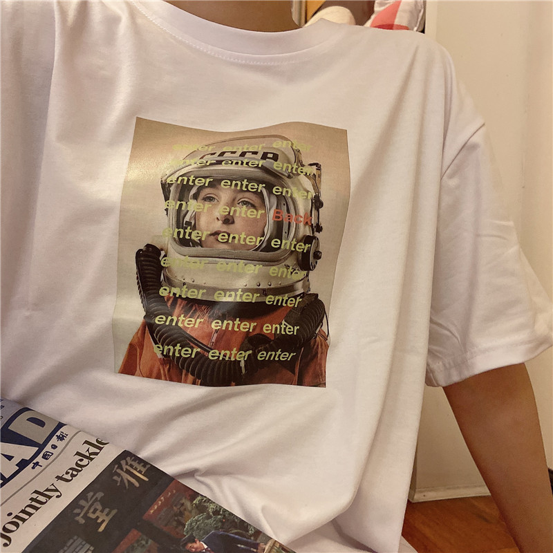 【实拍】100%纯棉 232 短袖宽松t恤 -