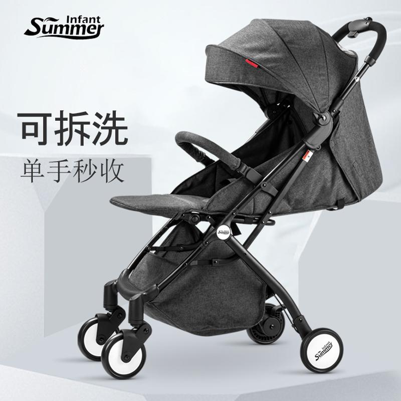 婴儿推车轻便易折叠可坐可躺宝宝儿童小推车四季通用溜娃伞车