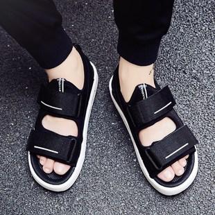 男士凉鞋2019新款一字拖鞋男士凉拖鞋男夏季沙滩鞋男凉鞋男潮拖鞋