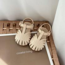 女宝宝包头凉鞋软底婴幼儿学步鞋夏季0-1-3女童公主鞋防滑沙滩鞋