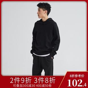 Egou男装2019新款男士休闲套头打底衫舒适青少年圆领针织衫毛衣