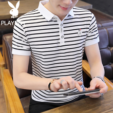 Playboy Short Sleeve T-shirt Men New Summer POLO T-shirt Men Lead T-shirt Men's Fashion