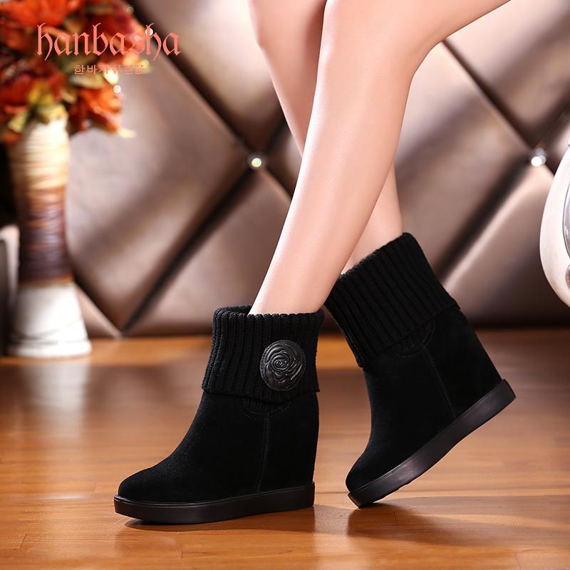 韩芭莎真皮女靴怎么样,好不好