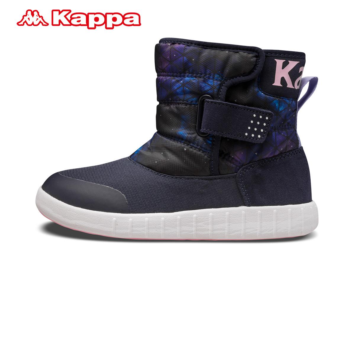 Kappa kids童装 新款男女童防滑加厚靴子 K07V5BB01