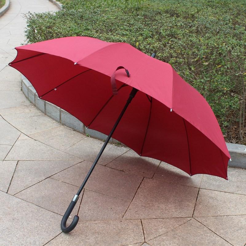 diy雨伞定制刻字个性 三人加固室外订制家用长柄晴雨商务订做大号