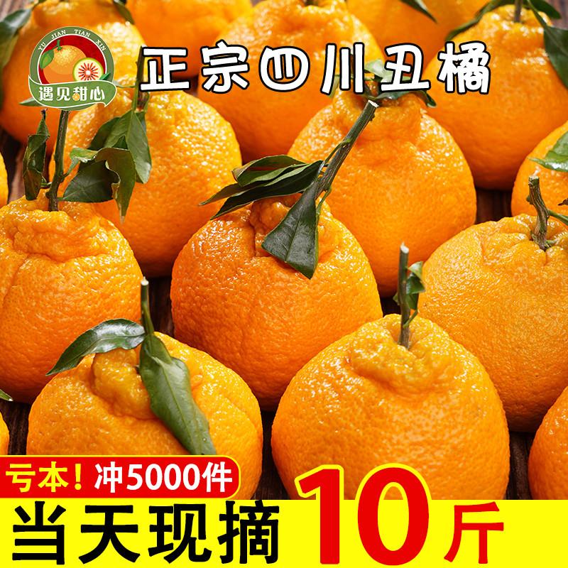 四川不知火丑橘新鲜水果当季10斤大丑八怪橘子耙耙柑丑桔丑柑整箱