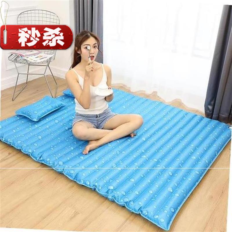 便携水床垫单人后排宿舍少女床椅超大户u外双人床尺寸好看透明圆
