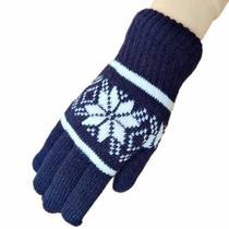 手套指五指加厚防寒防风骑男士男生毛线全保暖针织户外冬季行手套