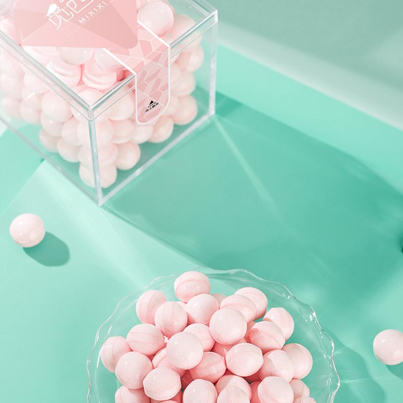 觅西西香体糖接吻糖吐息约会糖网红糖薄荷口香糖硬糖口气清新糖