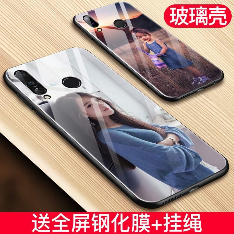 华为nova4手机壳定制nove3i套4e新款3e订制2s个性navo5玻璃情侣女