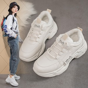 Daddy shoes 2019 new autumn shoes casual sports tide shoes autumn white shoes women's shoes autumn and winter wild ins