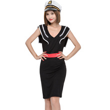 Halloween role playing Navy Dress Lady style sailor suit Sailor Costumes suit