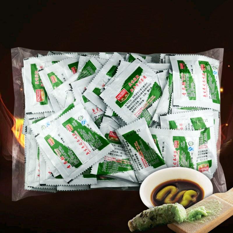 天禾 青芥辣芥末酱鱼生寿司本味鲜酱油二合一寿司酱料100小包