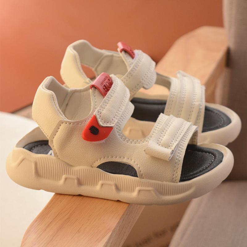 宝宝凉鞋男童1-3岁半2020夏季新款女童沙滩鞋2婴幼儿小童潮鞋软底