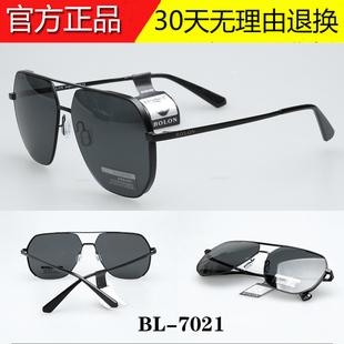 暴龙眼镜BL7021男士时尚偏光太阳镜2019款飞行员框蛤蟆墨镜BL8068