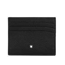 Direct sale Montblanc Montblanc large class soft leather grain series 6-card position cattle leather wallet male 113309