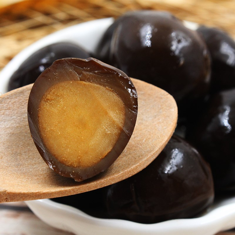德食铁蛋五香卤蛋20包 香卤鹌鹑蛋盐�h味小包装休闲食品零食小吃