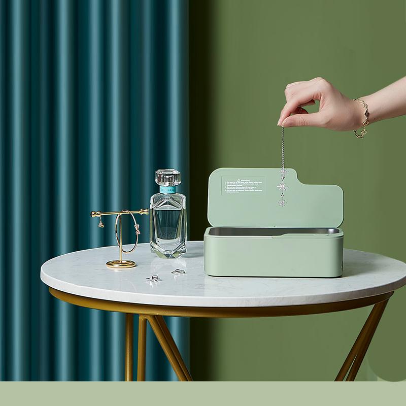 固特超声波清洗机洗眼镜机家用手表首饰眼镜超声波清洗器