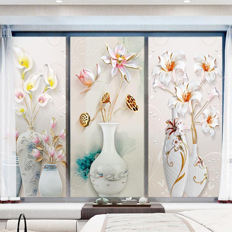 静电磨砂窗户玻璃贴纸透光不透明卫生间防走光浴室遮光防窥玻璃贴