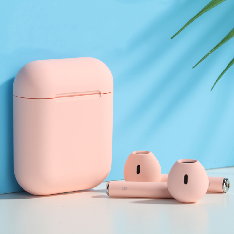 少女心无线蓝牙耳机女生款可爱双耳入耳式马卡龙粉色萌运动苹果vivo华为小米oppo安卓通用隐形最小无限潮卡通